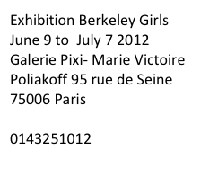 Exhibition Berkeley Girls 